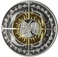Британские Виргинские Острова 1 роял 2007.Корабль.(Первая в мире четырех метальная монета).Арт.60