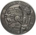 Буркина Фасо 10000 франков 2014.Футбол – ФИФА 2014 – Чемпионат мира в Бразилии (Килограмм).Арт.60