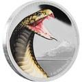 Ниуэ 2 доллара 2016.Королевская кобра серия Короли Континентов.Арт.60