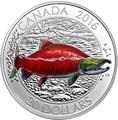 Канада 20 долларов 2016.Нерка.Арт.60