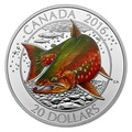 Канада 20 долларов 2016.Арктический Голец.Арт.60