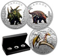Канада 3х10 долларов 2016.Динозавры.Арт.60