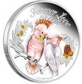 Тувалу 50 центов 2014.Вечная любовь - FOREVER LOVE – Попугаи Какаду Инка.Арт.000155646311/60