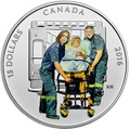Канада 15 долларов 2016.Парамедики – Национальные герои.Арт.60