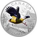 Канада 20 долларов 2016.Птица Американский Щегол.Арт.60