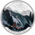 Канада 20 долларов 2016.Лосось серия Иллюзия ландшафта.Арт.60