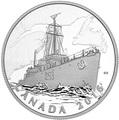 Канада 20 долларов 2016.Патрульный корабль против подводных лодок серии Канадский тыл.Арт.60