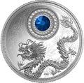 Канада 5 долларов 2016.Дракон – Сентябрь (кристалл Сваровски).Арт.60