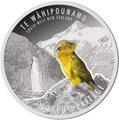 Новая Зеландия 1 доллар 2015.Попугай Кеа – Горы Моунт Эспайрин - Всемирное наследия ЮНЕСКО.Арт.60