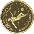 Конго 100 франков 2014.Футбол – ФИФА 2014 – Чемпионат мира в Бразилии.Арт.000313149826/60