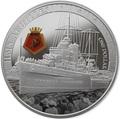 Новая Зеландия 1 доллар 2014.Крейсер Ахиллес.Арт.000100049590/60