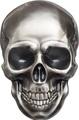 Палау 5 долларов 2016 Череп (Palau 5$ 2016 Skull 1 oz Silver Coin).Арт.60