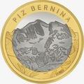 Швейцария 10 франков 2006.Гора Пиц Бернина (Piz Bernina).Арт.60