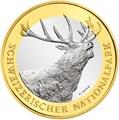 Швейцария 10 франков 2009.Олень (Red deer) – Швейцарский национальный парк.Арт.60