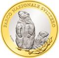 Швейцария 10 франков 2010.Альпийский сурок (Alpine Marmot) – Швейцарский национальный парк.Арт.60