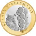 Швейцария 10 франков 2011.Медведь - Бернский луковый рынок (Bern Onion Market).Арт.60