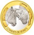 Швейцария 10 франков 2012.Коровьи бои (Cow fighting).Арт.60