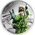 Канада 15 долларов 2016.Военный – Национальные герои.Арт.60