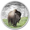 Канада 20 долларов 2016.Бизон серия Величественные животные.Арт.60