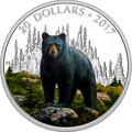 Канада 20 долларов 2017.Медведь серия Величественные животные.Арт.60