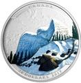 Канада 20 долларов 2017.Сова серия Иллюзия ландшафта.Арт.60