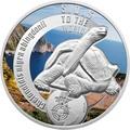 Ниуэ 1 доллар 2016 Черепаха SOS.Арт.60