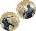 Новая Зеландия 1+1 доллар 2014.Хоббит: Битва Торина и Азога – Битва пяти воинств.(Блистер).Арт.60