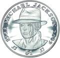 Сьерра Леоне 1 доллар 2009 Майкл Джексон (Sierra Leone 1$ 2009 Michael Jackson).Арт.000050338789/60
