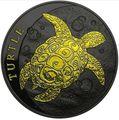 Ниуэ 2 доллара 2016.Черепаха (Black Ruthnium).Арт.60