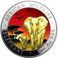 Сомали 100 шиллингов 2015.Слоны.Арт.60