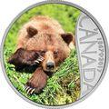 Канада 10 долларов 2017.Медведь Гризли – 150 лет Празднования Канады.Арт.60