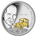 Острова Кука 10 долларов 2008.Генри Форд.Арт.60