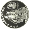 Острова Кука 5 долларов 2009.Джеймс Кук – Корабль Индевор (HMB Endeavour).Арт.000125039885/60