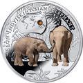 Ниуэ 1 доллар 2016.Азиатский Слон серия Вымирающие виды животных.Арт.60