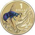 Австралия 1 доллар 2014.Оса – Яркие жуки (Блистер).Арт.000086253568/60