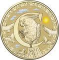 Австралия 1 доллар 2017.Алфавит – C – Попугай (Блистер).Арт.000086253543/60