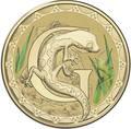 Австралия 1 доллар 2017.Алфавит – G – Ящерица (Блистер).Арт.000086253548/60