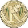 Австралия 1 доллар 2017.Алфавит – K – Коала (Блистер).Арт.000086253552/60