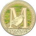 Австралия 1 доллар 2017.Алфавит – M – Сорока (Блистер).Арт.000086253554/60