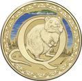 Австралия 1 доллар 2017.Алфавит – Q – Квокка - короткохвостый кенгуру (Блистер).Арт.000086253558/60