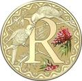 Австралия 1 доллар 2017.Алфавит – R – Попугай (Блистер).Арт.000086253559/60
