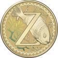 Австралия 1 доллар 2017.Алфавит – Z – Рыба зебра (Блистер).Арт.000086253567/60