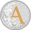 Австралия 1 доллар 2017.Алфавит – A – Муравей.Арт.000272953514/60