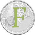 Австралия 1 доллар 2017.Алфавит – F – Летучая лиса.Арт.000272953520/60