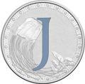 Австралия 1 доллар 2017.Алфавит – J – Медуза.Арт.000272953524/60