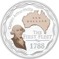 Австралия 1 доллар 2008.Капитан Артур Филипп – Первый Флот.Арт.60