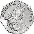 Великобритания 50 пенсов 2016 Белка.Арт.60