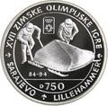 Босния и Герцеговина 750 динаров 1993 Бобслей - Зимние Олимпийские игры 1994 в Лиллехаммере.Арт.000336137688/60