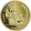 Нидерландские Антильские острова 100 гульденов 1999 Корабль Санта Мария.Арт.001900053879/60