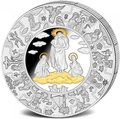 Либерия 100 долларов 2010 Пресвятая Дева Мария (Пазл, Килограмм).Арт.004400053878/60